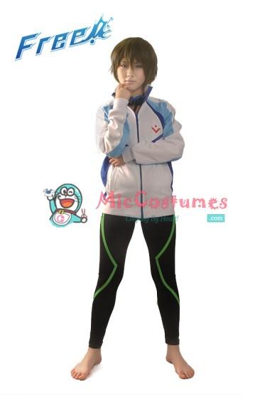 Free! Iwatobi Swim Club Makoto Tachibana Cosplay Costume Coat