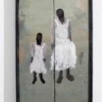 Ohne Titel 2016 Öl auf Leinwand und auf Holz 54,5x34,5 cm