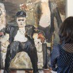 Diktatur der Kunst 2016 Öl auf Leinwand 200 x 200 cm