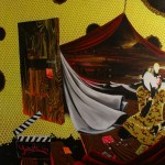 am Scheideweg acrylic on canvas 185 x 185 2012