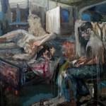 Atelier 2015 - 2016  Öl auf Leinwand  160x140 cm