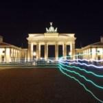 Brandenburg Gate 2 -Berlin- 2012  Foto auf Alu Dibond 60x80cm