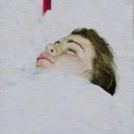 ohne Titel 2005 Öl auf Leinwand auf Holz bezogen 24 x 27 cm