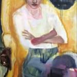 Darja, Öl auf Leinwand, 160 x 100 cm, 2011