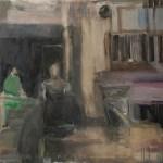 Ulrike Pisch Erinnerung, 2012, Öl auf Leinwand 100x130cm