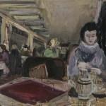 Ulrike Pisch Porta Bohemica,2010, Öl auf Baumwolle, 70x100cm,