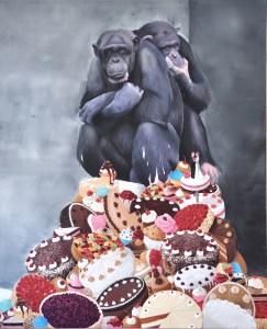 Simon Czapla 2015  Oil on canvas  160x130cm