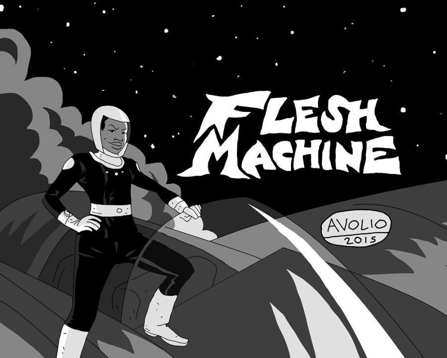 cover pg - Flesh Machine med