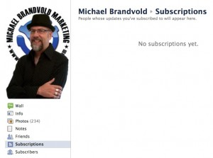 Facebook Subscriptions
