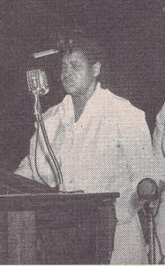 Dranes spoke at the COGIC convocation in 1951