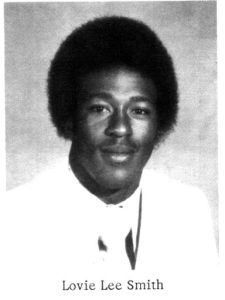 Smith's senior high school pic.
