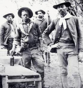 Buffalo Soldiers circa 1917.