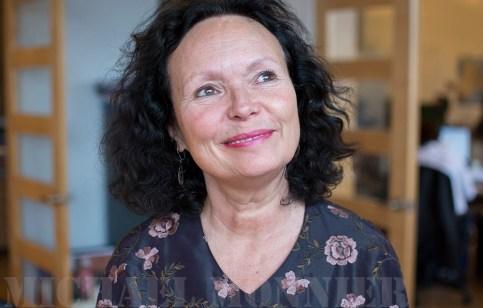 Manon Barbeau, au bureau de Wapikoni Mobile