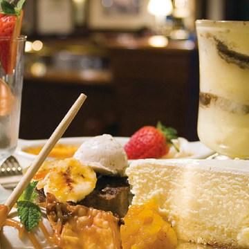 Johnson & Wales Inn dessert tray
