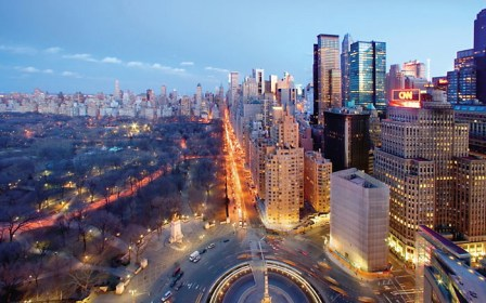 Mandarin Oriental Central Park view