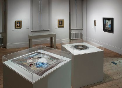 Manchester Art Gallery installations Michael Pollard