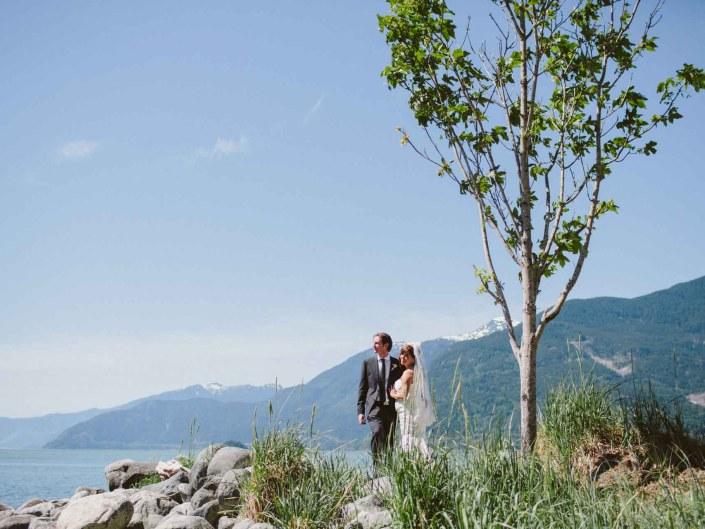 aida and james fury creek wedding