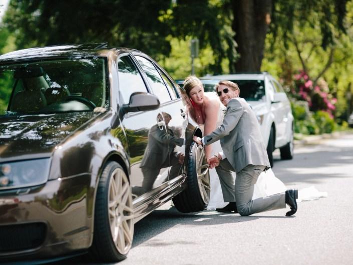 funny wedding photos queen elizabeth park vancouver