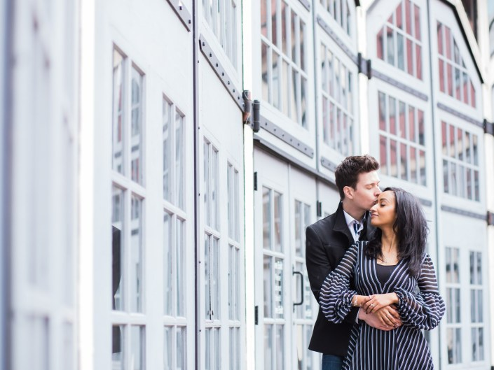 jeff and hiwot's engagement session in yaletown