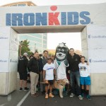Community Ambassador at IronKids Event in 2015