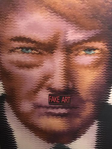 """A Demagogue in his own Right"" by Mikael Takacs. The artist warns about comparing trump and Hitler and says it's important to not oversimplify the Trump presidency."