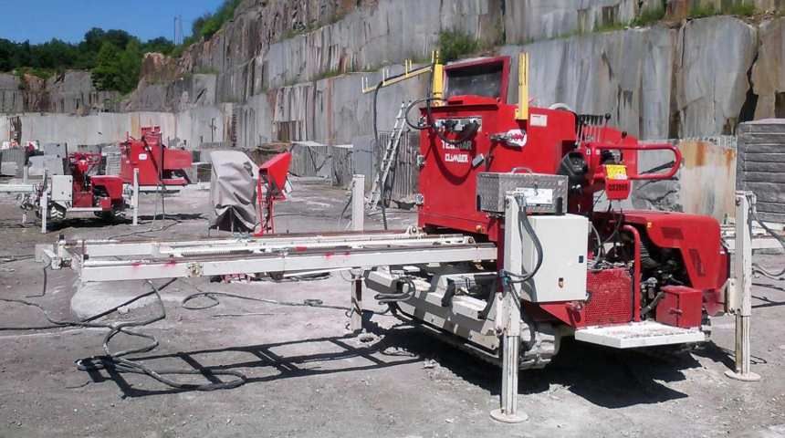 TELESTAR CLIMBER – Diamond wire quarrying machine