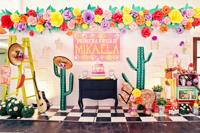 Mikaelas Primera Fiesta A Modern Mexican Fiesta
