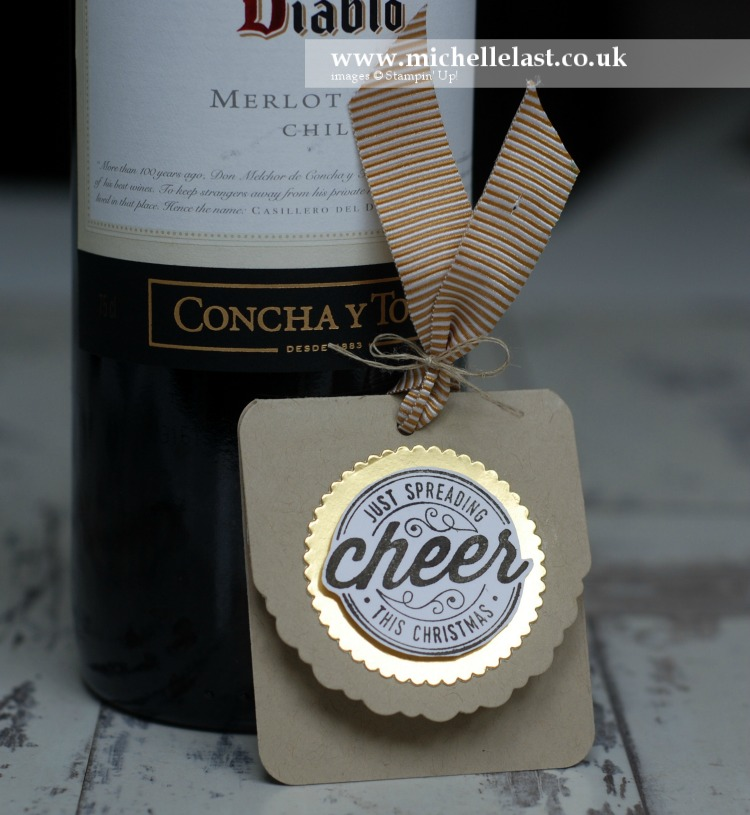 Here's to Cheers from Stampin Up