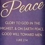 advent peace