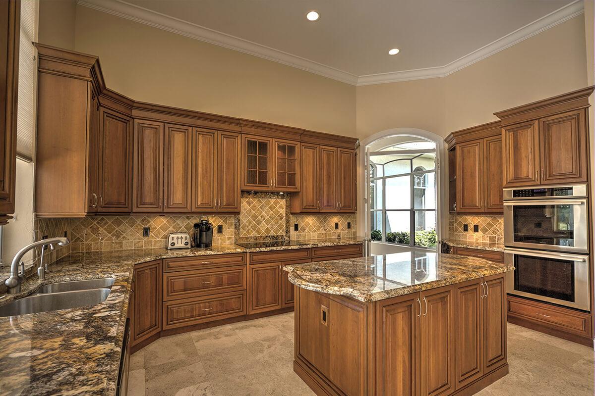 gallery black kitchen countertops Michigan Granite Tops