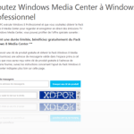 Obtenez gratuitement le pack Windows Media Center pour Windows 8