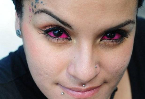 Tatuaje en el ojo