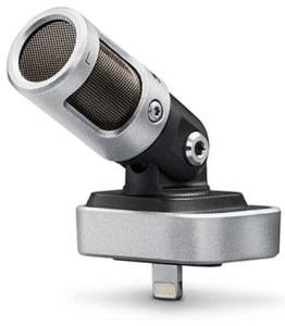 The Shure MV88 iOS mic is solid