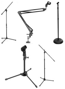 We review the best microphone stands in the market