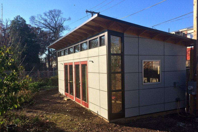 Completed Studio Shed