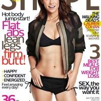 Lauren Cohan @ Shape Magazine