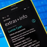 Cyan windows phone