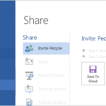 Office 2013 Sharing