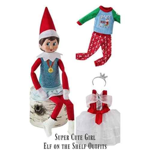 Medium Crop Of Elf On The Shelf Girl