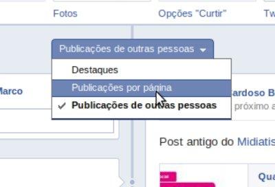 filtrando conteudo facebook Linha do Tempo para fan pages chegou. Saiba tudo sobre a novidade e como ativar em sua página agora.