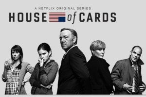 Cartaz de &quot;House of Cards&quot;, seriado original do Netflix