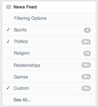facebook filtro Se você pudesse pedir uma funcionalidade ao Facebook, qual seria?