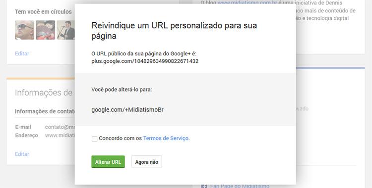 google-plus-url-personalizada