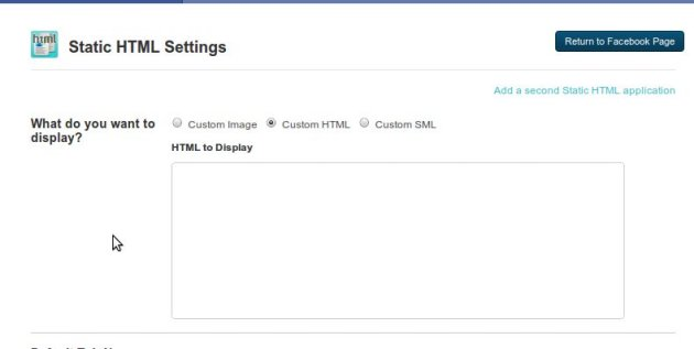 static html app 7 aplicativos de abas para fan page do Facebook
