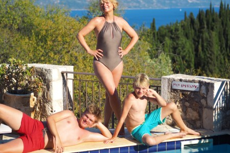 Kefalonia with teenagers