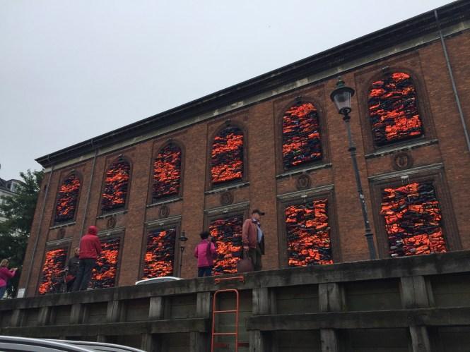 Midlife Sentence | Nyhavn Art Installation for World Refugee Day