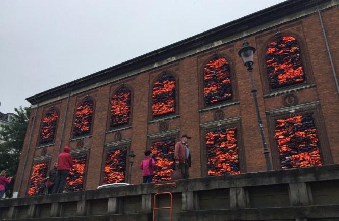 Midlife Sentence   Nyhavn Art Installation for World Refugee Day