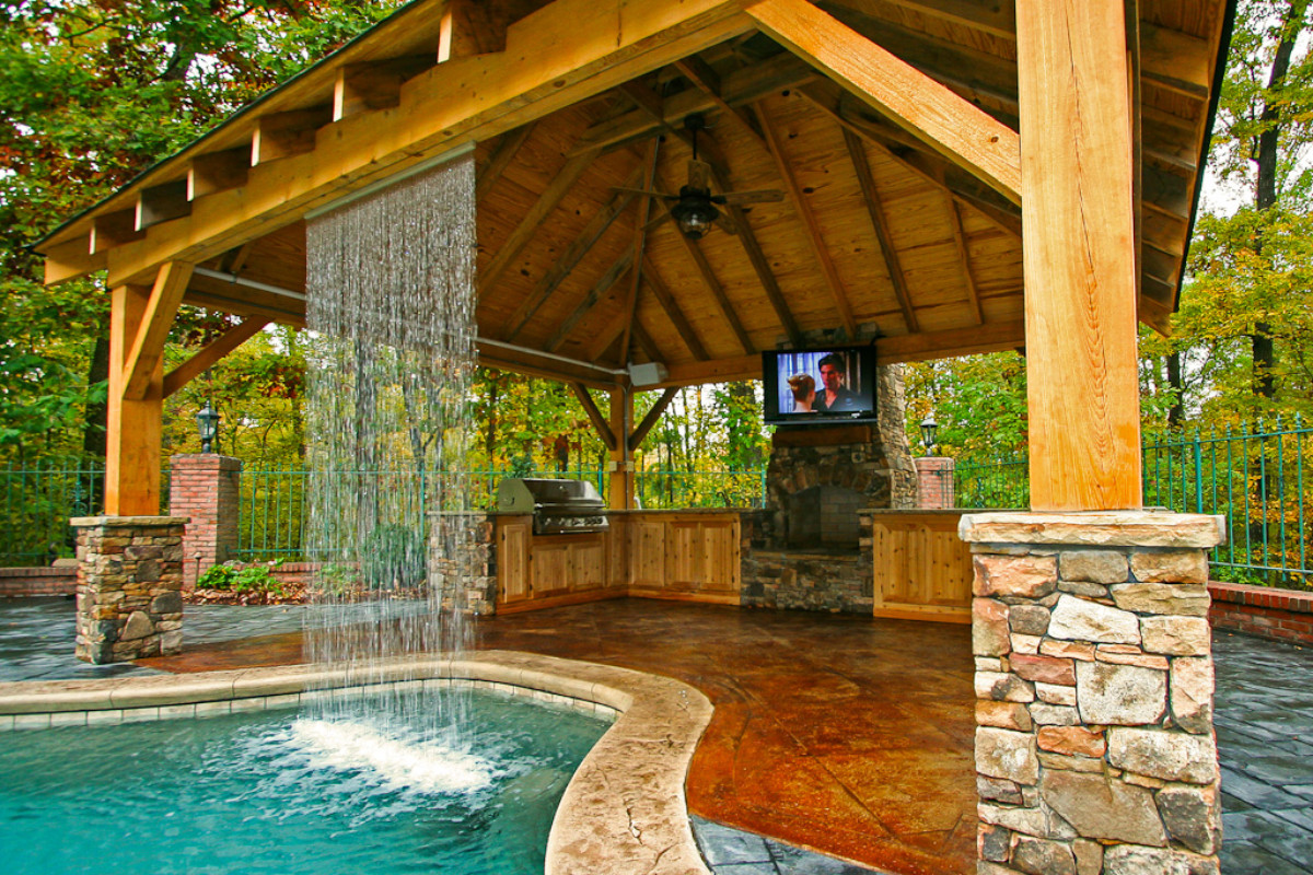 Captivating Your Home Is Missing A Critical Piece To Its Puzzle Backyard When You Dream About Entertaining Family Backyard Your Swimming Outdoor Living Space outdoor Backyard Outdoor Living