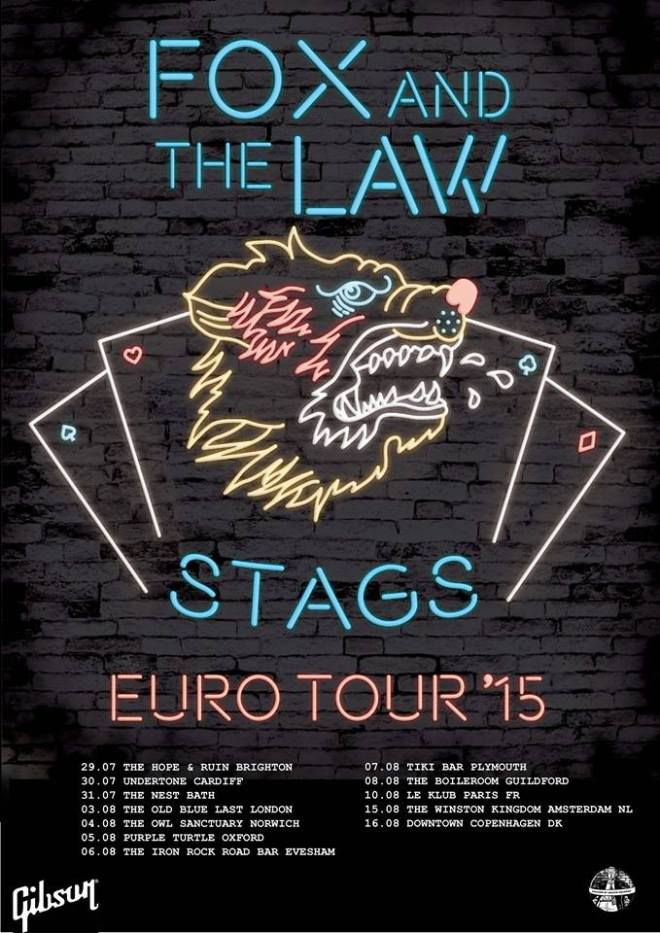 Fox and the Law UK Tour Dates