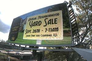 The Annual Yard Sale